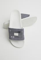 G-Star RAW - Zip cart slide ii women - navy & white