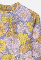 Cotton On - Hamilton long sleeve rash vest - multi