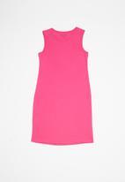 GUESS - Teens double Jordan dress - pink