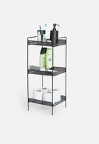 Sixth Floor - Perforated shelf - black