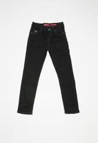 GUESS - Teens skinny jeans - black