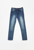 SOVIET - Boys skinny denim - blue