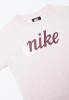 Nike - Girls Nike crew neck - pink
