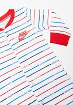 Nike - Stripe footed coverall - multi