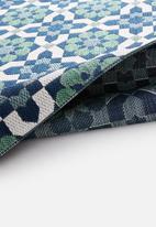 Hertex Fabrics - Paros balcony runner - ocean