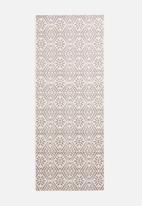 Hertex Fabrics - Santorini balcony runner - dove