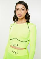Missguided - Active top and legging 2pk - green