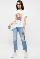 Missguided - Britney Spears graphic T-shirt - white