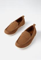 Cotton On - Billy boat shoe - tan