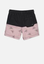 Cotton On - Volly short - black & pink