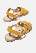 Cotton On - Fisherman sandal - yellow