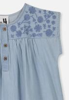Cotton On - Penny short sleeve dress - blue