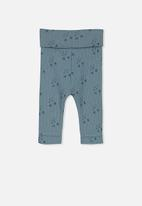 Cotton On - Newborn legging - blue