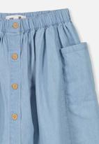 Cotton On - Joanie skirt - blue