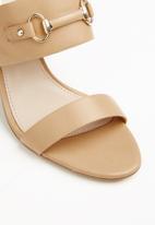 ALDO - Broicia block heel sandal - neutral