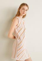 MANGO - Striped dress - multi