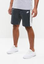Nike - NSW CE woven short - grey & white