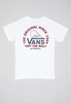 Vans - Cope with it kids - white