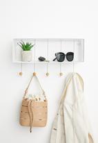 Sixth Floor - Norah wall shelf - white