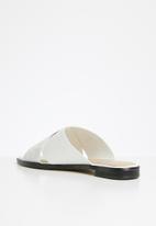 ALDO - Celararith leather sandal - white