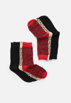 Brave Soul - Skins socks 5pk - multi