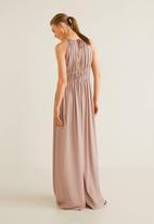 MANGO - Soft palazzo jumpsuit - pink