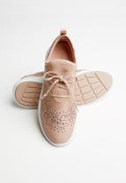 ALDO - Gradosa rhinestone embellished sneaker - pink