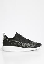 ALDO - Gradosa rhinestone embellished sneaker - black