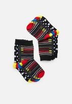 Brave Soul - Blend socks 5pk - multi