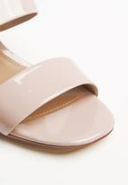 ALDO - Sylith wide strap block heel  - pink