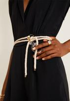 MANGO - Collared wrap playsuit - black