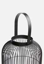 Home & Styling - Outdoor metal lantern - black