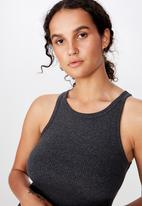 Cotton On - The turn back tank - grey