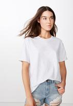 Cotton On - The relaxed boyfriend tee - grey