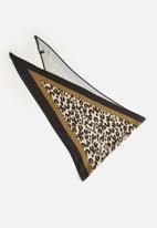 STYLE REPUBLIC - Animal print neck tie - brown