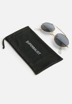 Superbalist - Rhonnay aviator sunglasses - gold & black