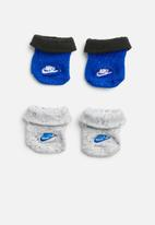 Nike - Futura nep booties - blue & grey