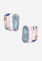 Cotton On - 5pk ankle sock - multi