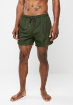 Brave Soul - Brink basic swim shorts - khaki