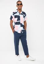 Selected Homme - Art regular fit all over print shirt - multi