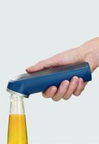Joseph Joseph - Barwise cap-collecting bottle opener - blue