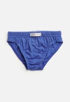Jockey - 3 Pack plain boys jockey skants - blue