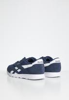 Reebok Classic - Teens classic nylon sneaker - heritage navy/white