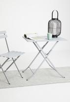 Sixth Floor - Bistro table square - grey