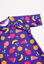 POP CANDY - Rash fruit print vest - purple