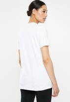 Missguided - Clueless graphic T-shirt - white