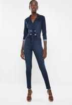 Sissy Boy - Double breasted jumpsuit - blue