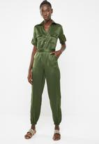 Sissy Boy - Karma police boilersuit - khaki