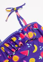 POP CANDY - 2 Piece fruit print swimsuit - purple
