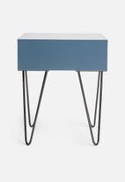 Sixth Floor - Penn bedside table - blue